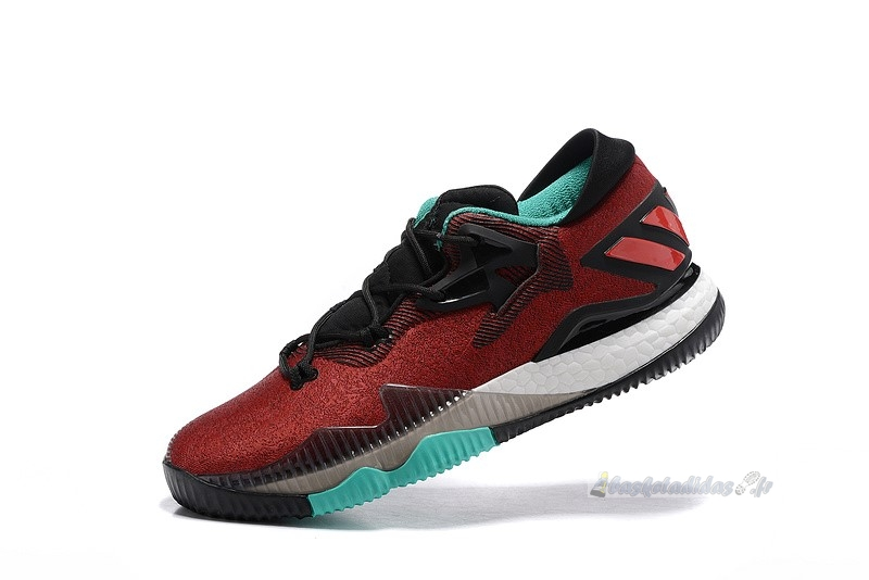 "Chaussure de Basket Adidas Crazylight Boost ""Ghost Pepper"" Rouge Bleu"