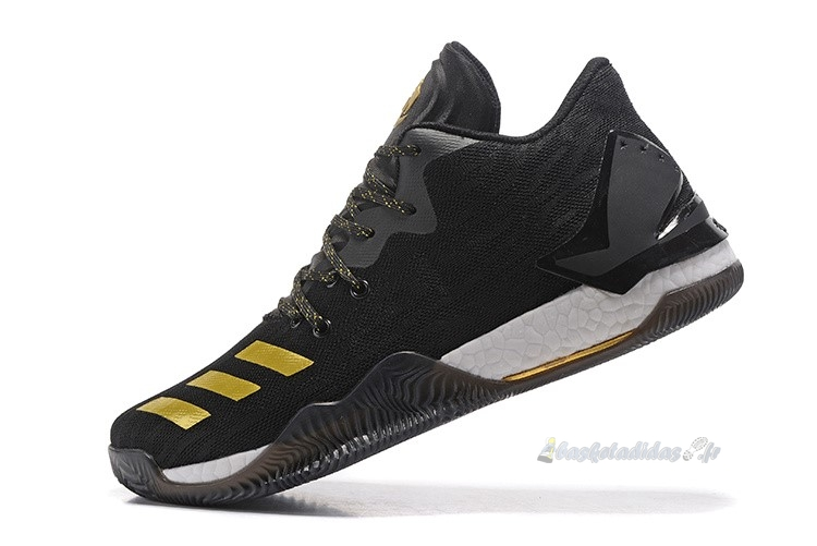 Chaussure de Basket Adidas Derrick Rose Vii 7 Low Noir Or