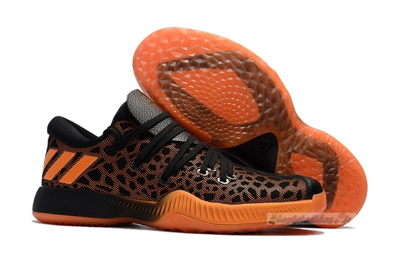Chaussure de Basket Adidas Harden Be Noir Orange
