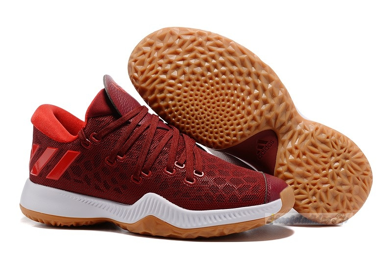 Chaussure de Basket Adidas Harden Be Rouge