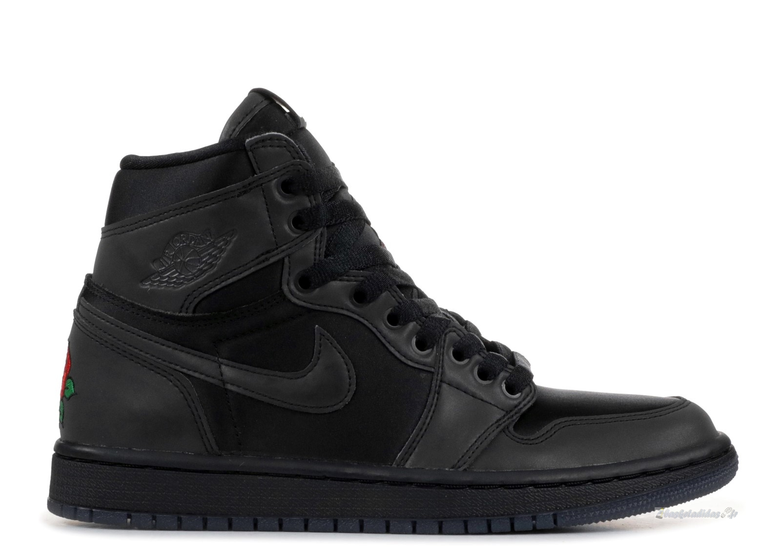 "Chaussure de Basket Air Jordan 1 Femme Retro High ""Rox Brown"" Noir (bv1576-001)"