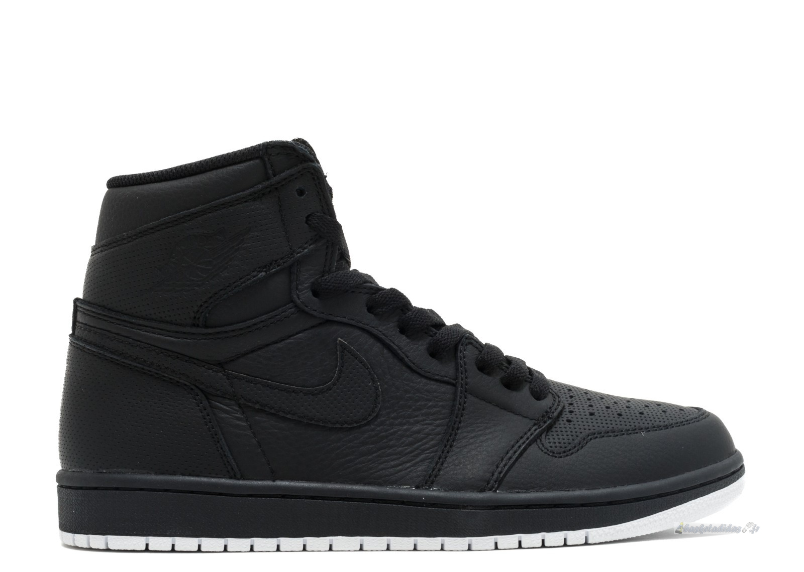 "Chaussure de Basket Air Jordan 1 Retro High Og ""Perforated"" Noir (555088-002)"