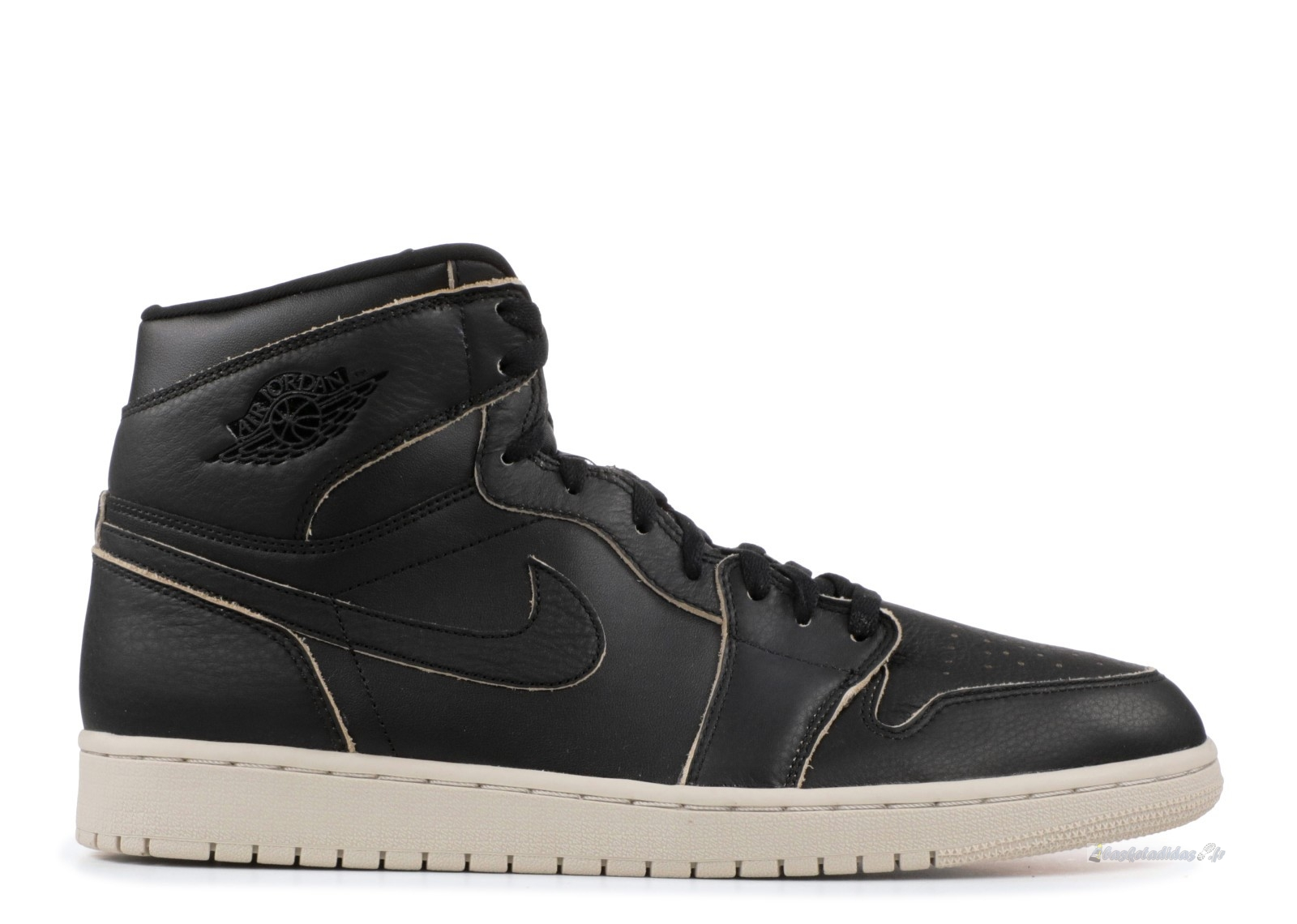 Chaussure de Basket Air Jordan 1 Retro High Prem Noir (aa3993-021)