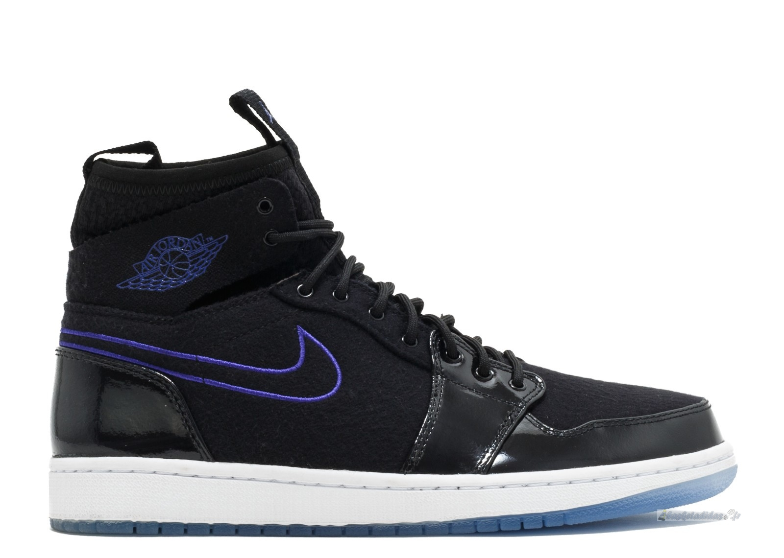 "Chaussure de Basket Air Jordan 1 Retro Ultra High ""Space Jam"" Black Concord Black White (844700-002)"