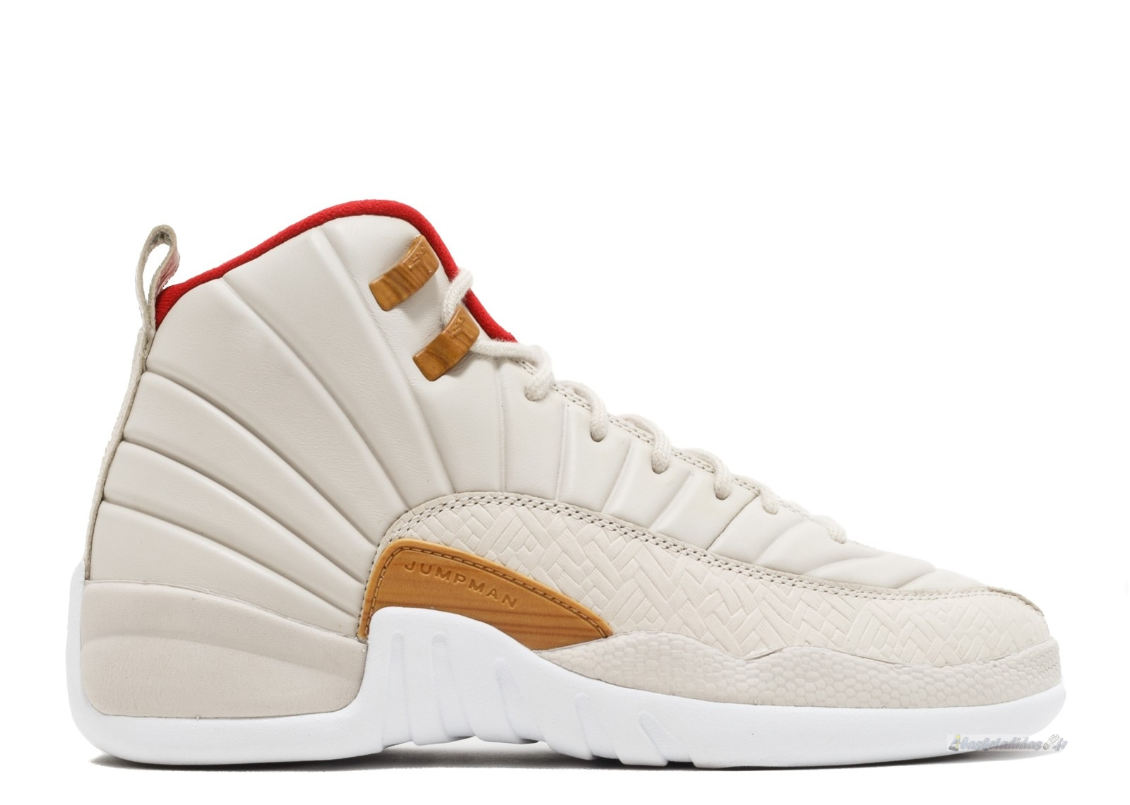 "Chaussure de Basket Air Jordan 12 Retro Cny (Gs) ""Chinese New Year"" Beige (881428-142)"