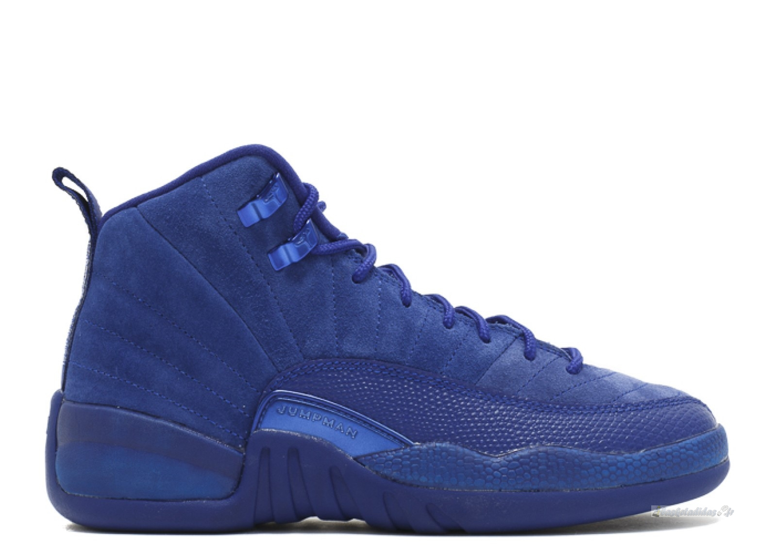 "Chaussure de Basket Air Jordan 12 Retro (Gs) ""Deep Royal"" Bleu (153265-400)"