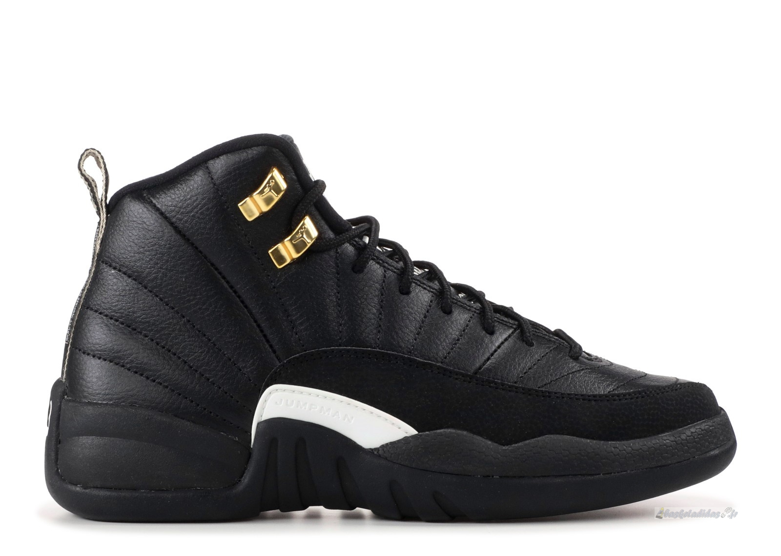 "Chaussure de Basket Air Jordan 12 Retro (Gs) ""The Master"" Noir Or (153265-013)"