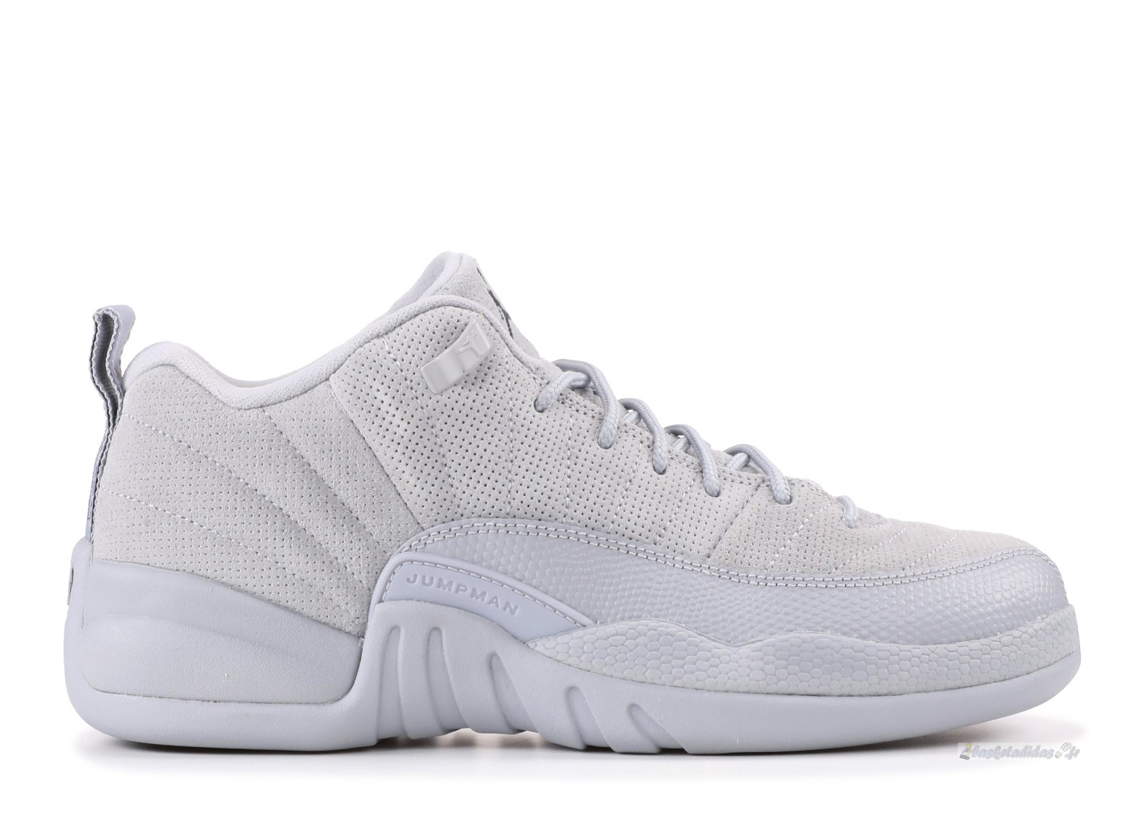 Chaussure de Basket Air Jordan 12 Retro Low (Gs) Gris (308305-002)