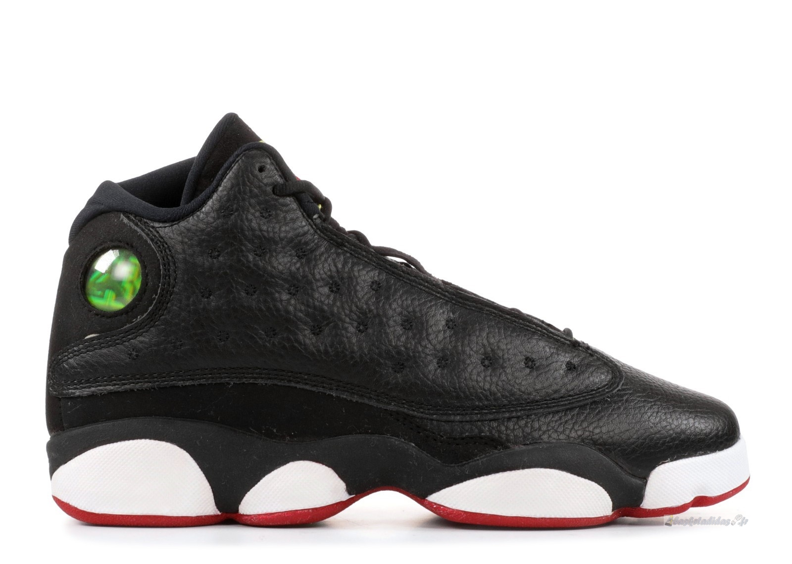 "Chaussure de Basket Air Jordan 13 Retro (Gs) ""Playoff"" Noir Blanc Rouge (414574-002)"