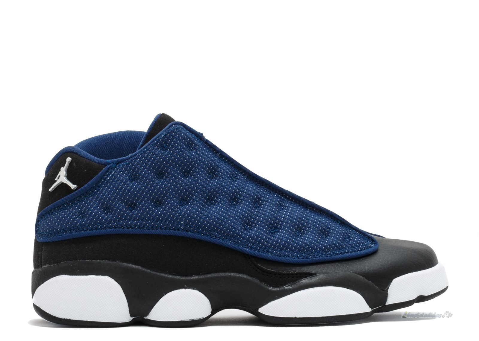 Chaussure de Basket Air Jordan 13 Retro Low Bg (Gs) Bleu (310811-407)