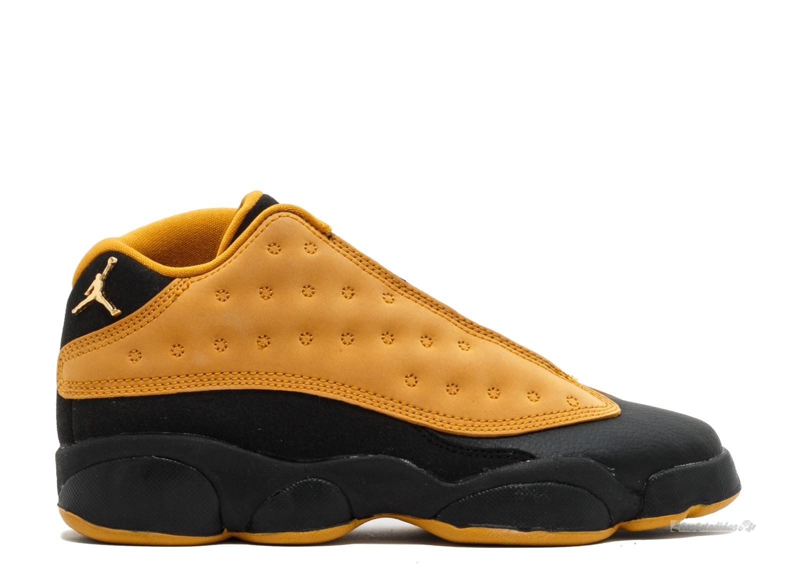 "Chaussure de Basket Air Jordan 13 Retro Low Bg (Gs) ""Chutney"" Marron Noir (310811-022)"