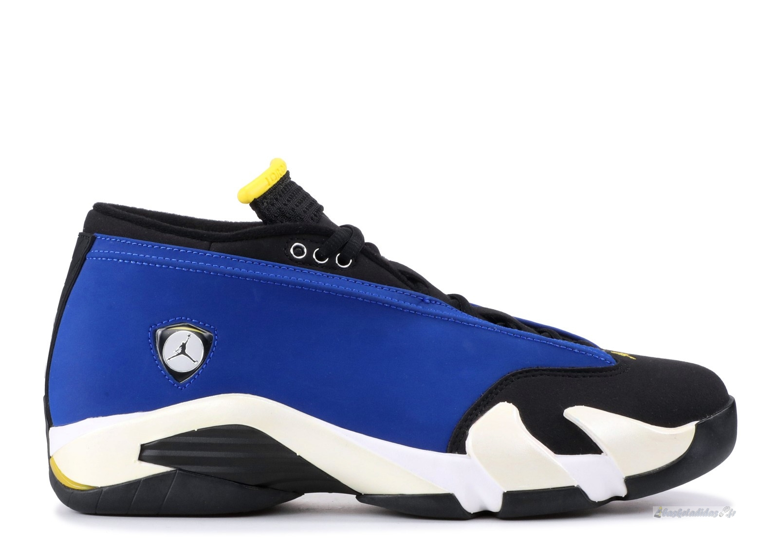 "Chaussure de Basket Air Jordan 14 Retro Low ""Laney"" Bleu Blanc (807511-405)"