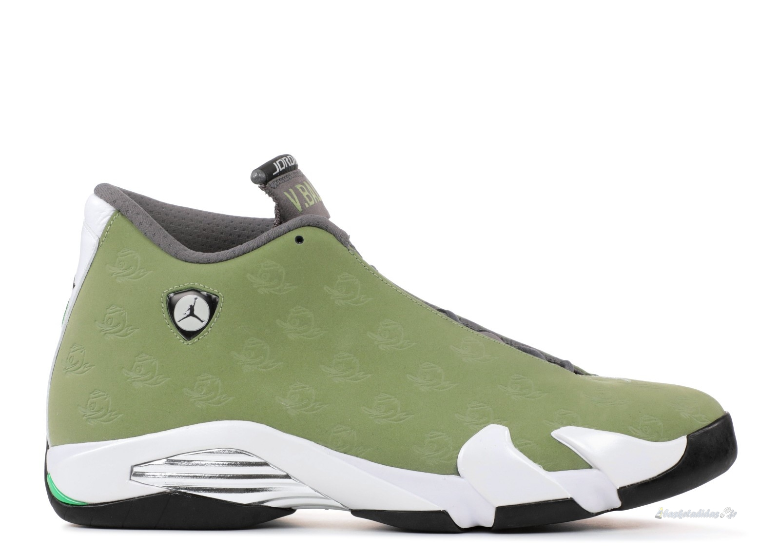 "Chaussure de Basket Air Jordan 14 Retro ""Oregon ""Volleyball"""" Vert (aj14-662021)"