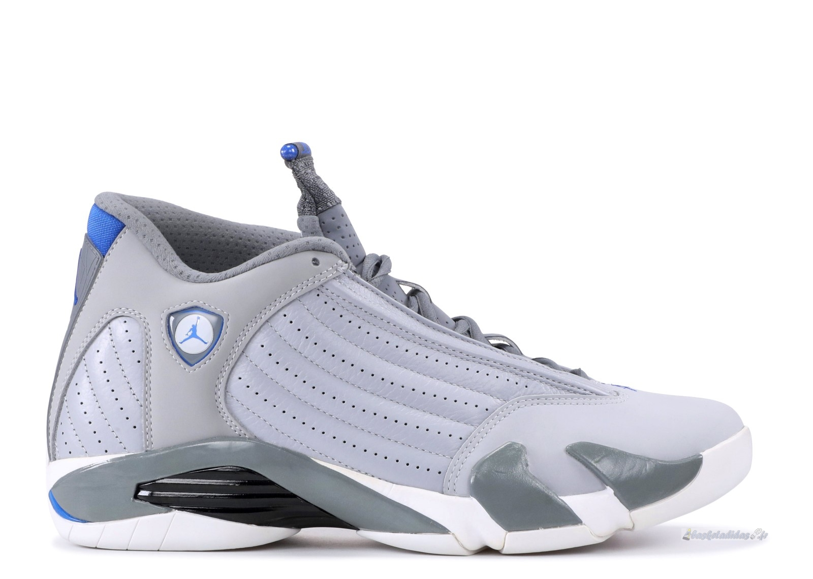 "Chaussure de Basket Air Jordan 14 Retro ""Sport Blue"" Gris (487471-004)"