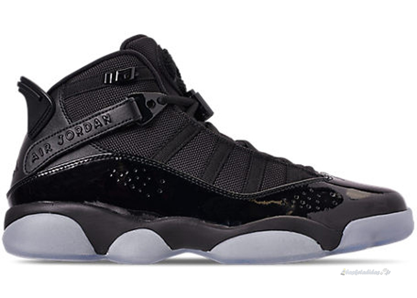 "Chaussure de Basket Air Jordan 6 Rings ""Noir Ice"" Noir (322992-011)"