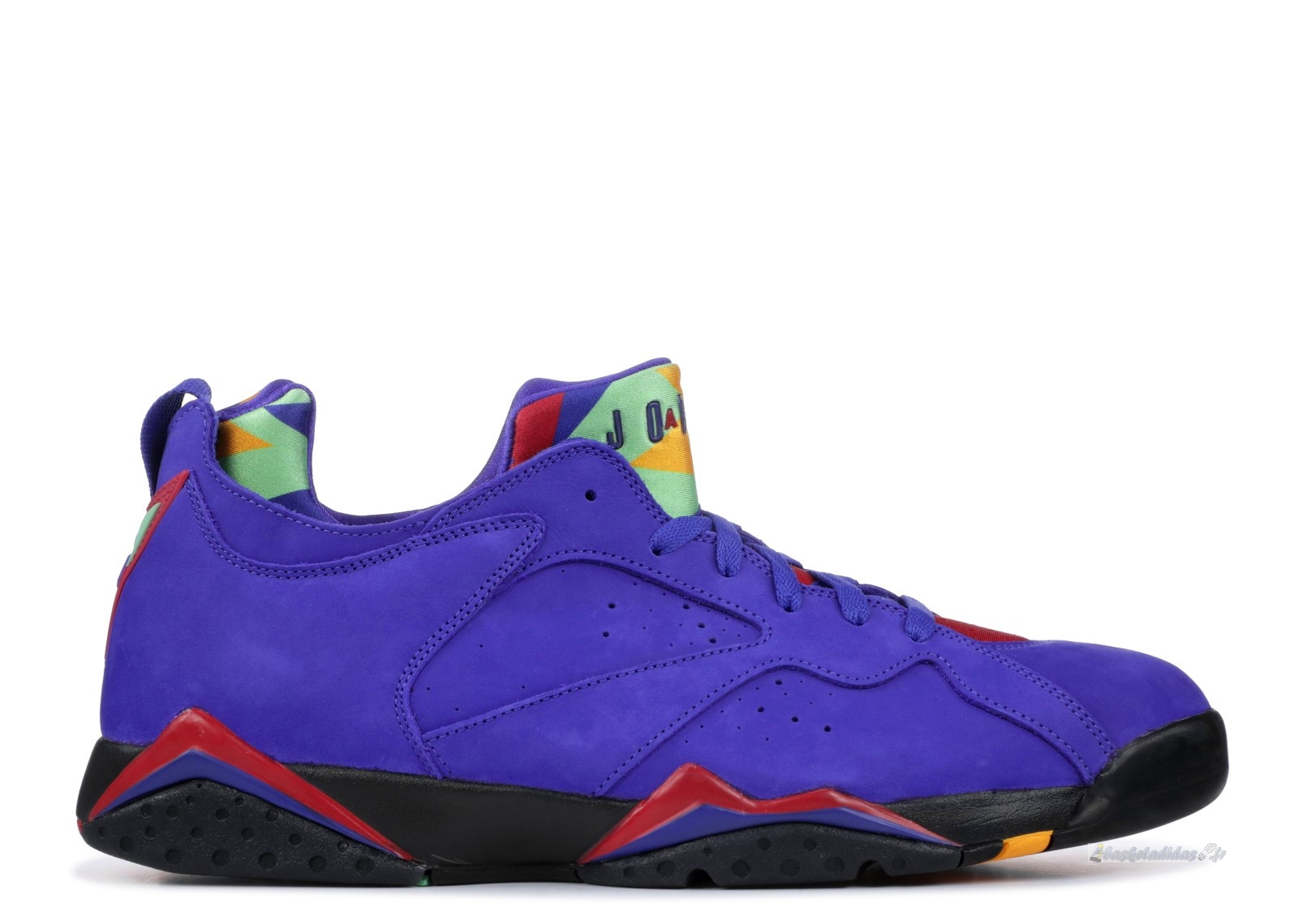 "Chaussure de Basket Air Jordan 7 Low Nrg ""Bright Concord"" Pourpre (ar4422-407)"