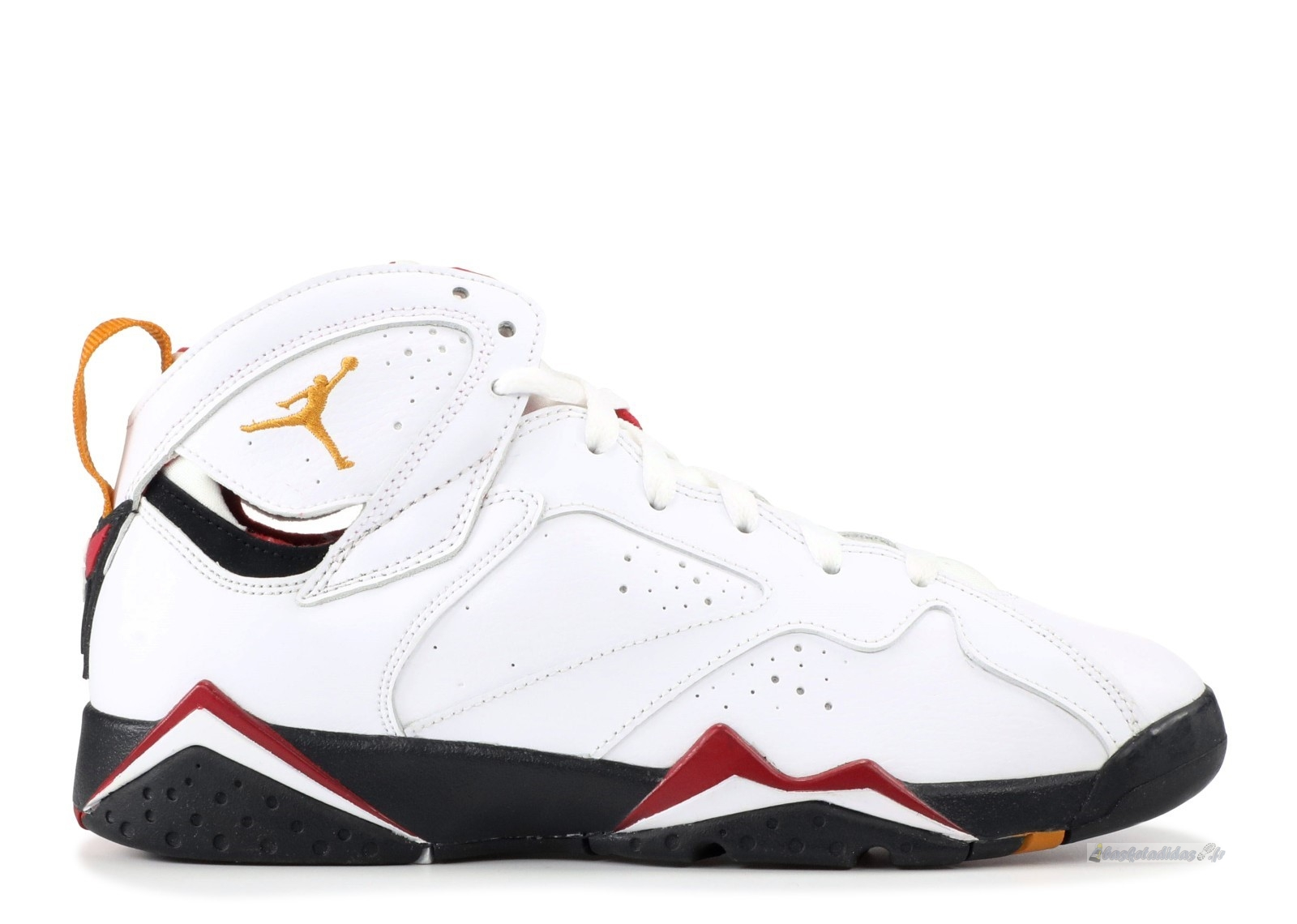 "Chaussure de Basket Air Jordan 7 Retro (Gs) ""Cardinal"" Blanc (304774-104)"
