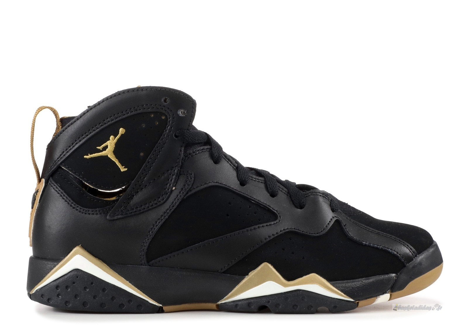 "Chaussure de Basket Air Jordan 7 Retro (Gs) ""Golden Moment"" Noir Or (304774-030)"