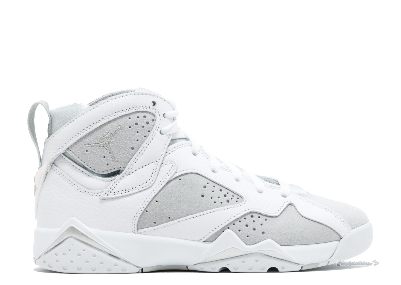 "Chaussure de Basket Air Jordan 7 Retro (Gs) ""Pure Money"" Blanc (304774-120)"