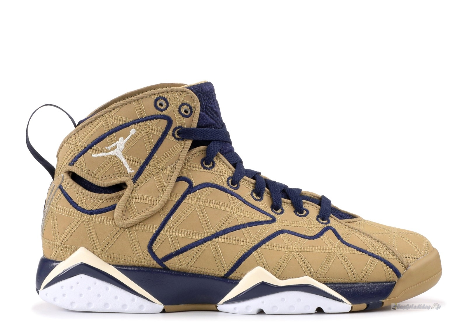 "Chaussure de Basket Air Jordan 7 Retro J2K ""Filbert"" Marron Blanc (543560-225)"