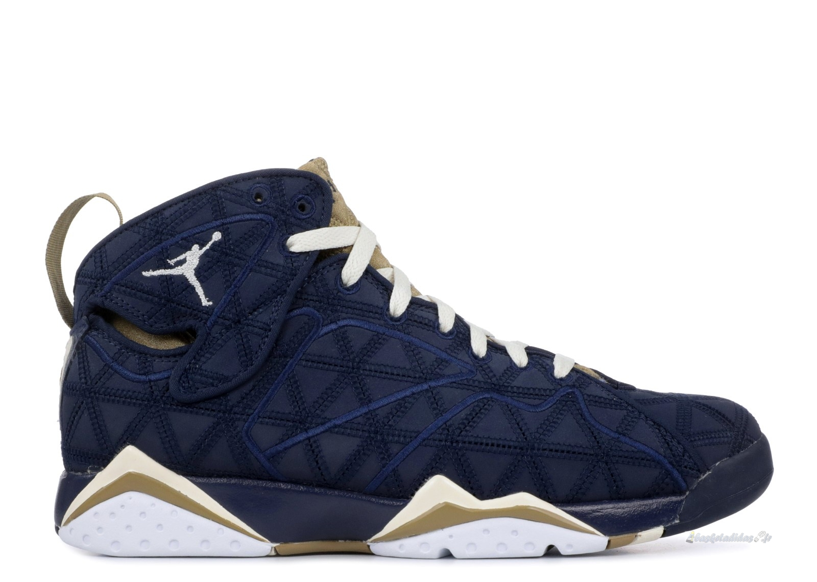 "Chaussure de Basket Air Jordan 7 Retro J2K ""J2K"" Noir Or (543560-415)"