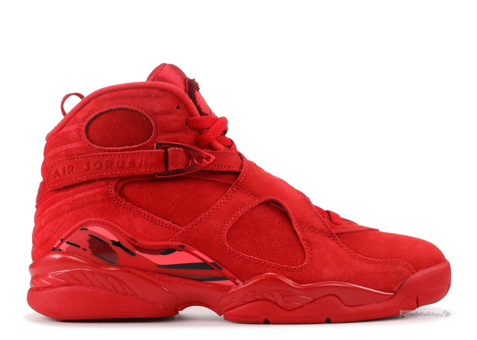 "Chaussure de Basket Air Jordan 8 Femme Vday ""Valentines Day"" Rouge (aq2449-614)"