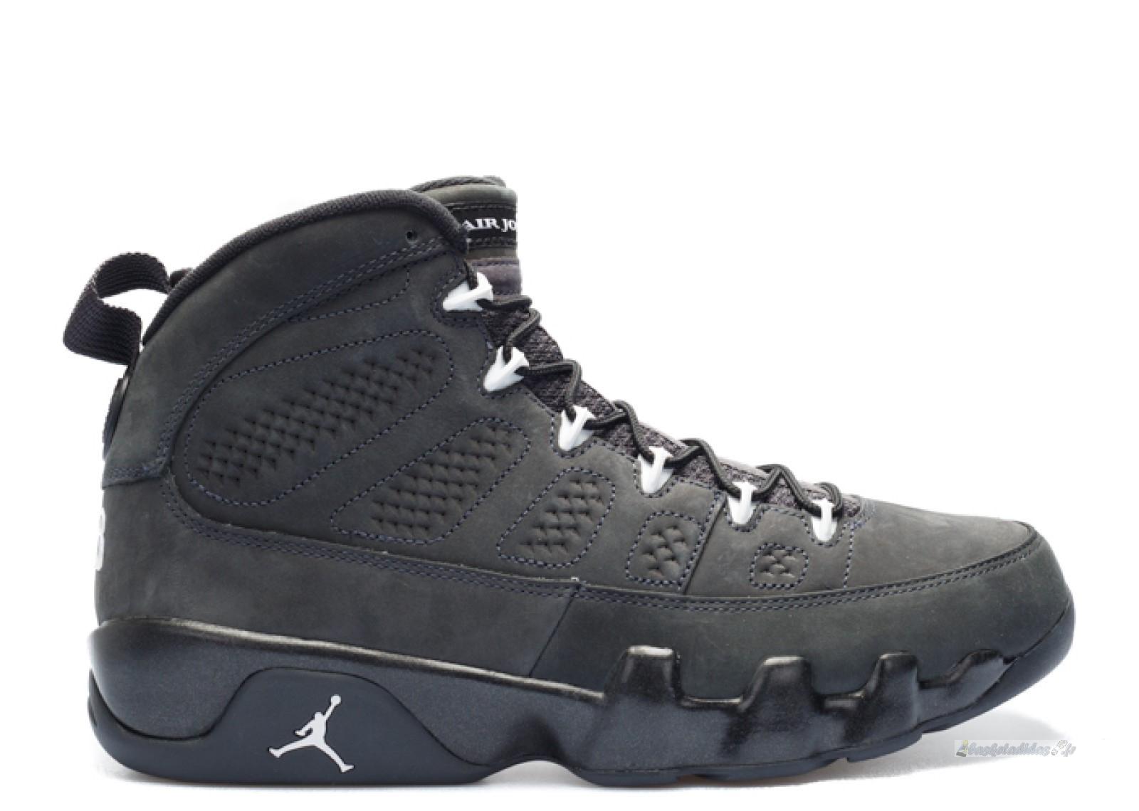 "Chaussure de Basket Air Jordan 9 Retro ""Anthracite"" Noir (302370-013)"