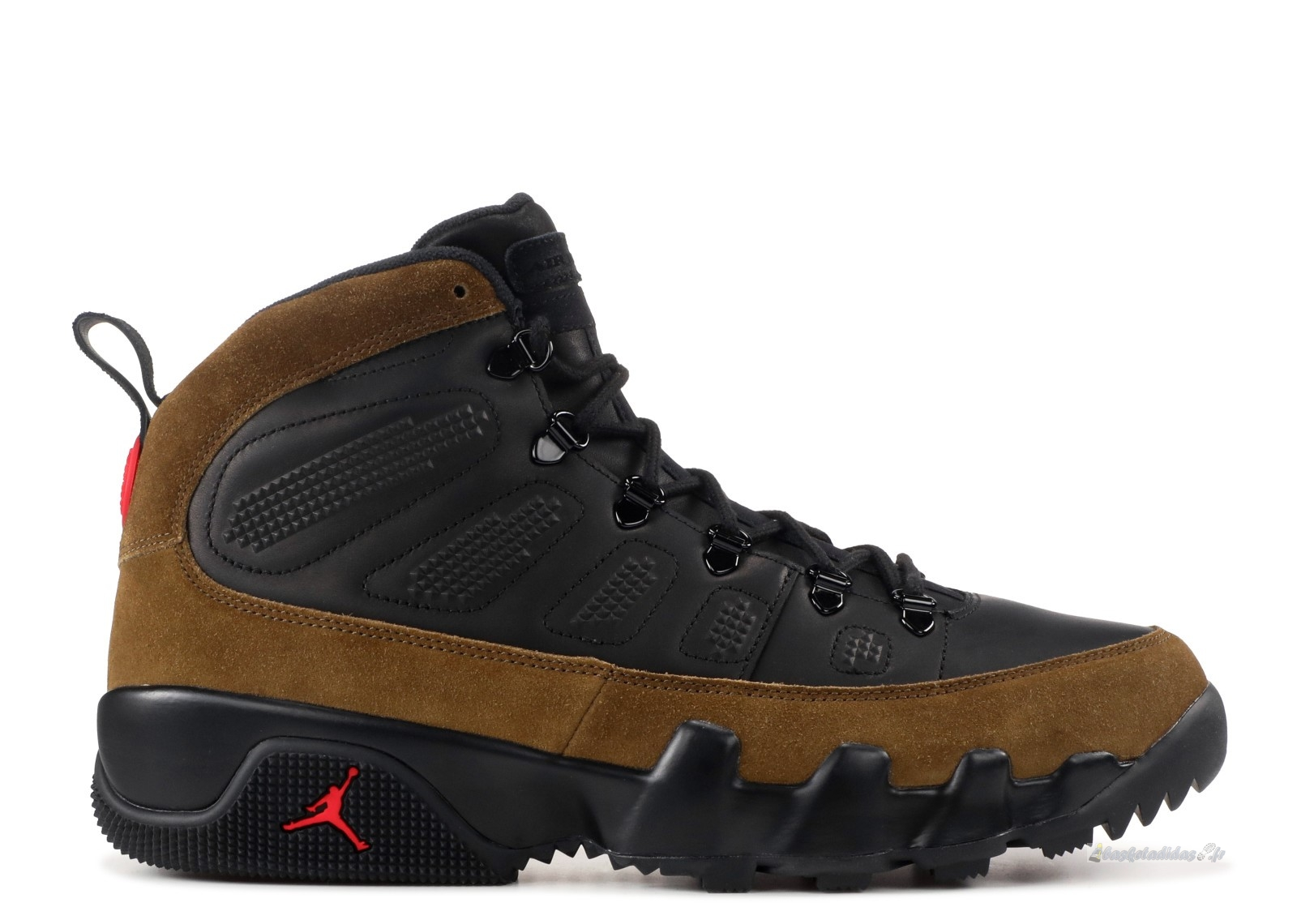 Chaussure de Basket Air Jordan 9 Retro Boot Nrg Noir Rouge (ar4491-012)