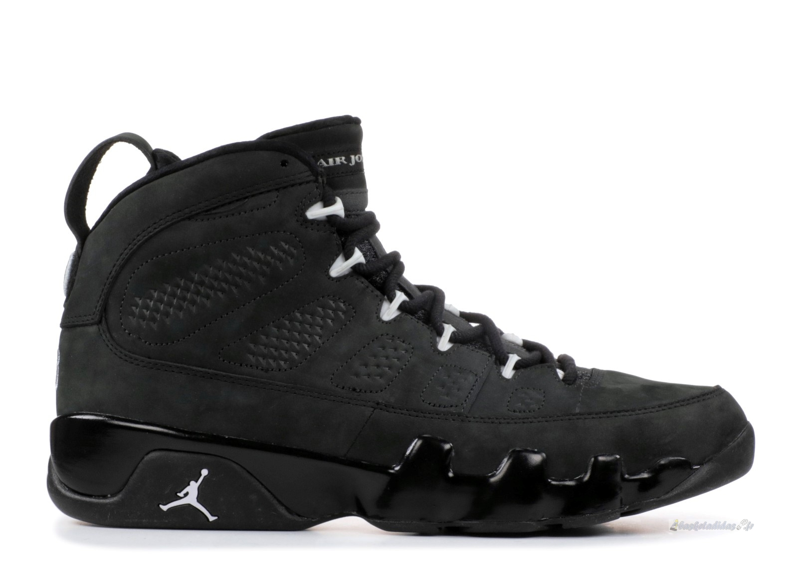 "Chaussure de Basket Air Jordan 9 Retro ""Oregon Ducks"" Noir Blanc (fa10m-jorda835231799)"