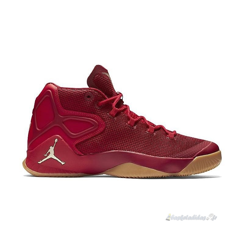 "Chaussure de Basket Air Jordan Men Melo M12 ""Big Apple"" Rouge (827176-696)"