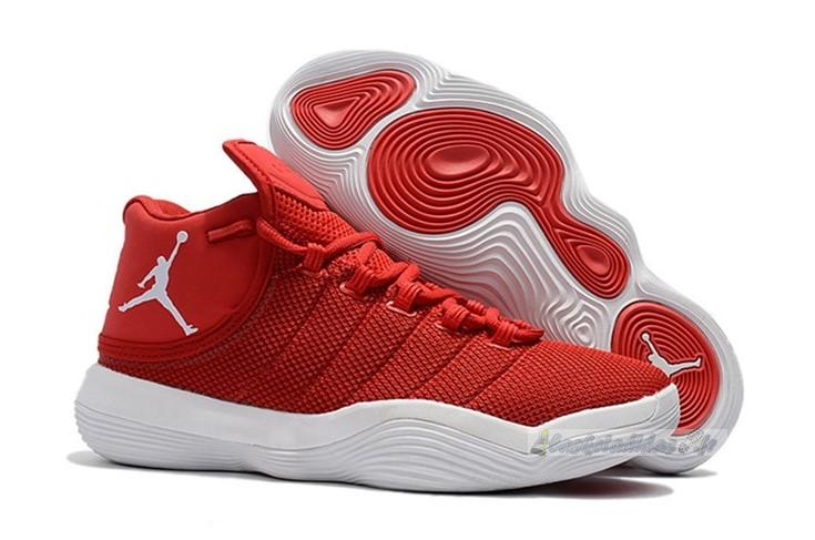 "Chaussure de Basket Air Jordan Super.Fly 2017 ""Blake Griffin"" Rouge Blanc"