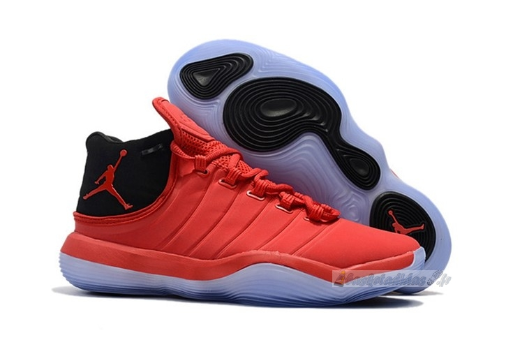 "Chaussure de Basket Air Jordan Super.Fly 2017 ""Blake Griffin"" Rouge Noir"