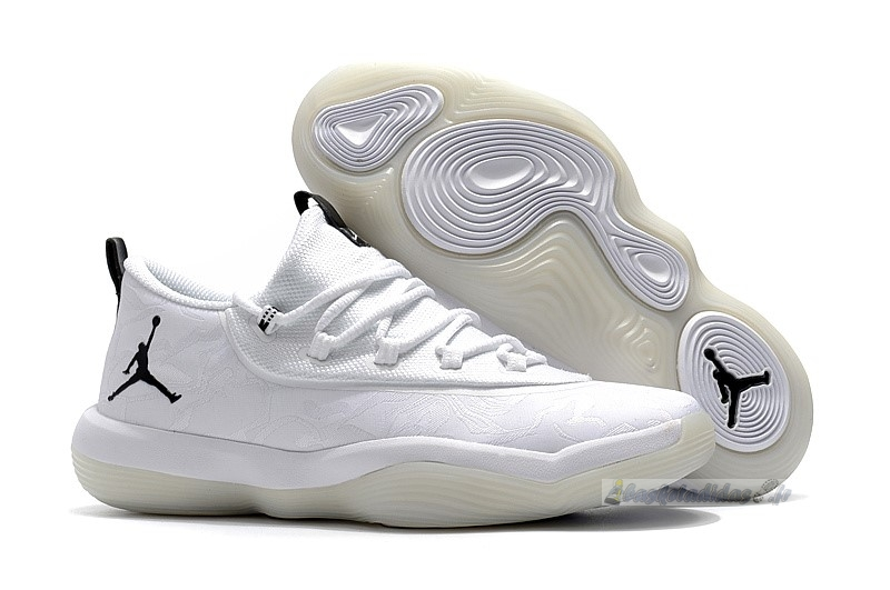 Chaussure de Basket Air Jordan Super.Fly 2017 Low Blanc