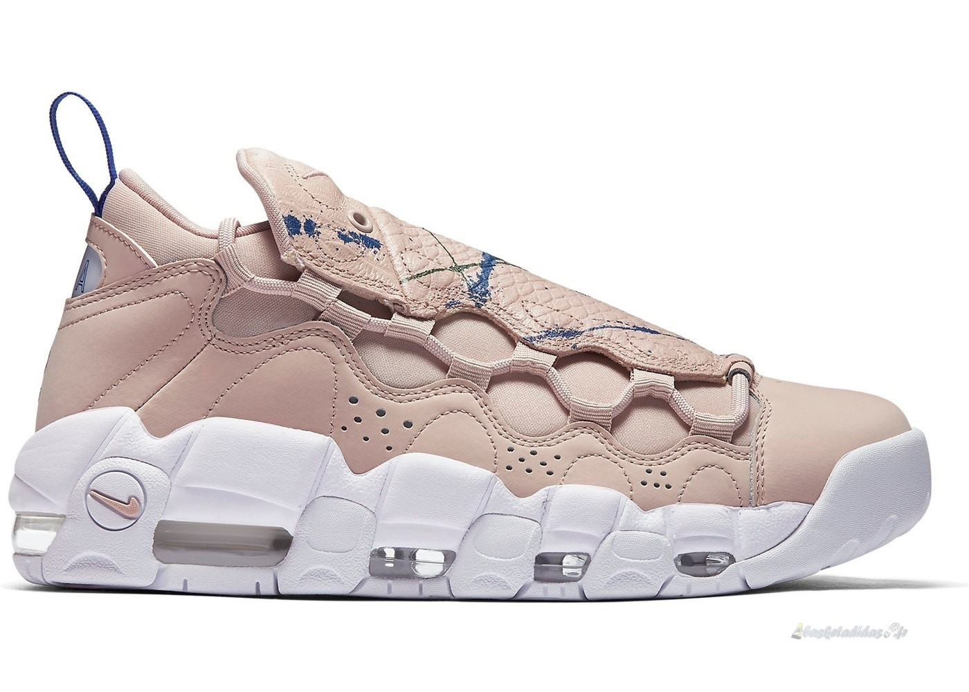 "Chaussure de Basket Air More Money Femme ""Particle Beige"" Beige (ao1749-200)"