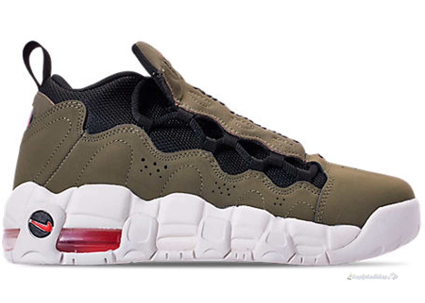 "Chaussure de Basket Air More Money (Gs) ""Medium Olive"" Olive (ah5215-200)"