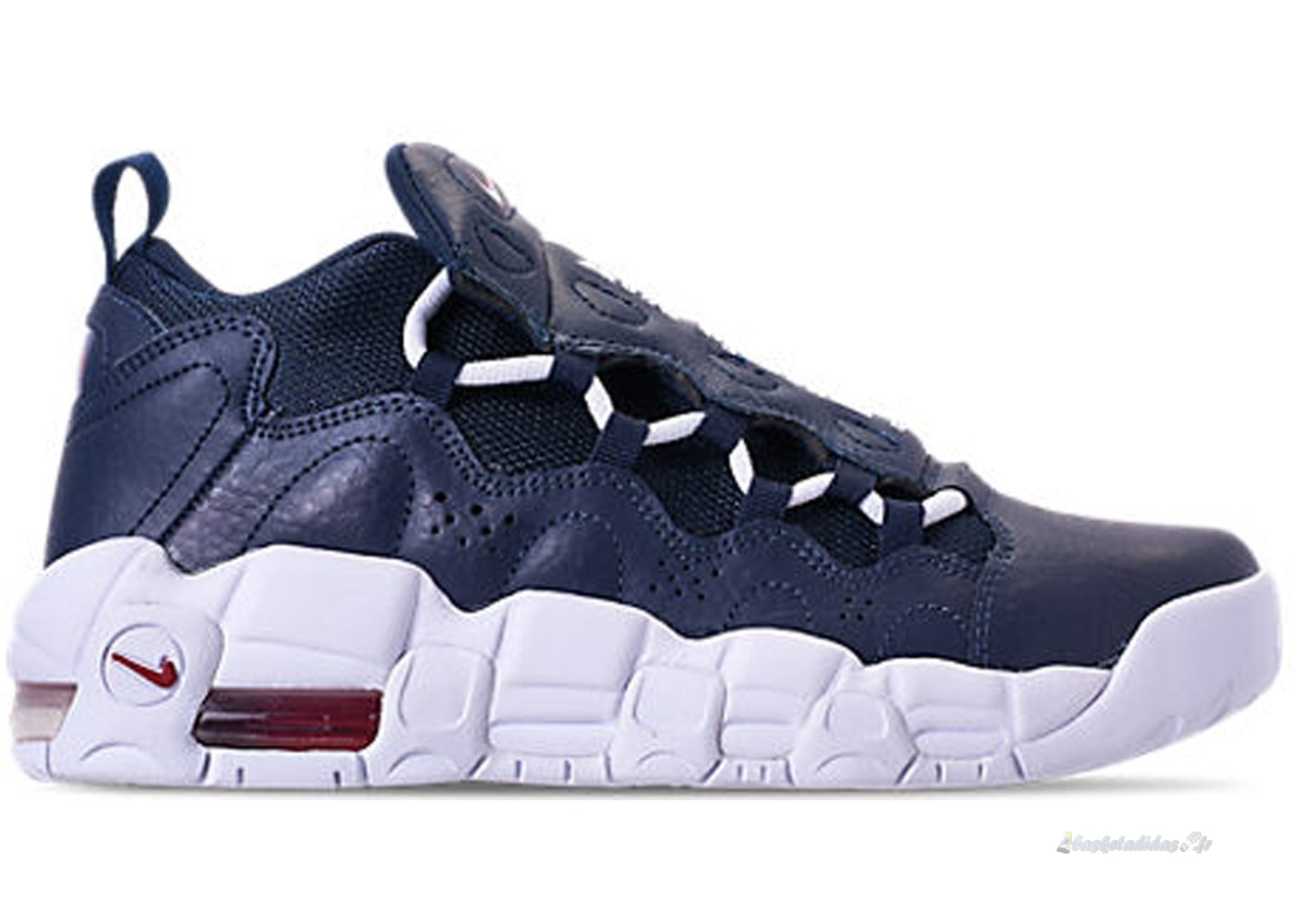 Chaussure de Basket Air More Money (Gs) Obsidian (ah5215-400)