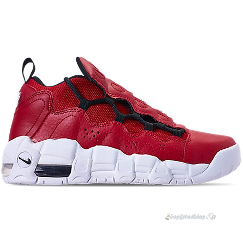 Chaussure de Basket Air More Money (Gs) Rouge (ah5215-601)