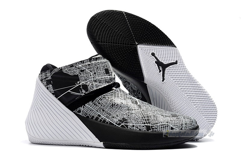"Chaussure de Basket Jordan Why Not Zer0.1 ""All Star"" Noir Blanc (tbd)"
