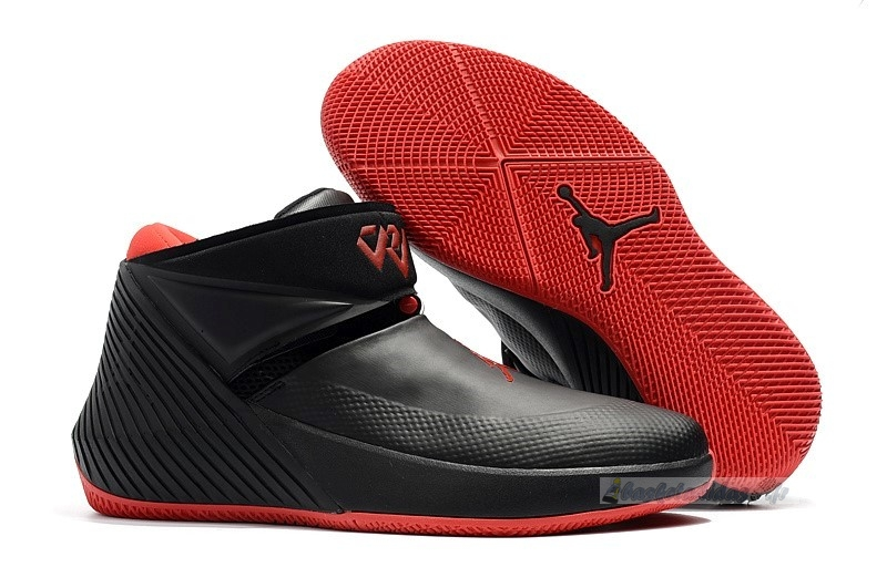 "Chaussure de Basket Jordan Why Not Zer0.1 ""Bred"" Noir Rouge"