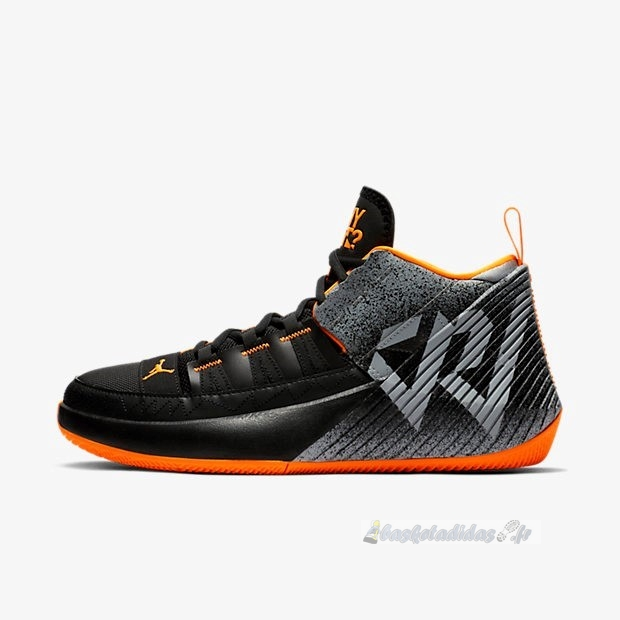 Chaussure de Basket Jordan Why Not Zer0.1 Chaos Pf Noir Orange (bv5499-008)
