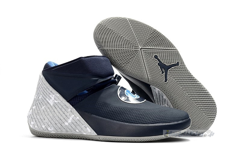 "Chaussure de Basket Jordan Why Not Zer0.1 ""Georgetown"" Marine Gris (aa2510-406)"