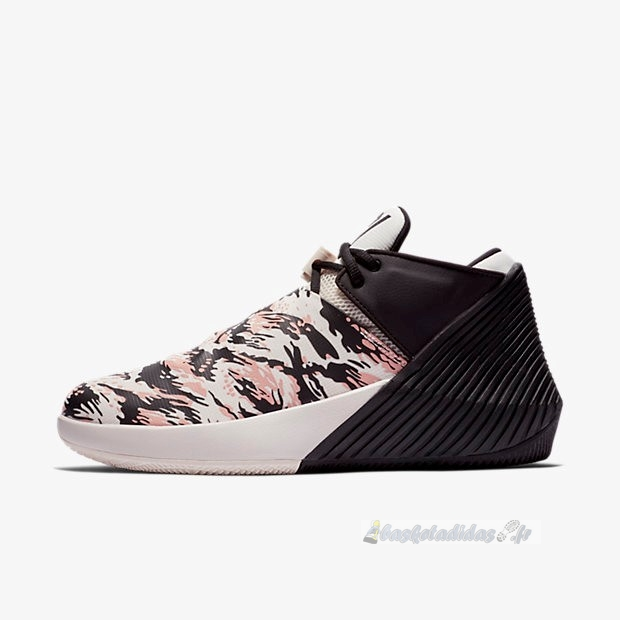 Chaussure de Basket Jordan Why Not Zer0.1 Low Pfx Camo Noir Rouge (ar0346-003)