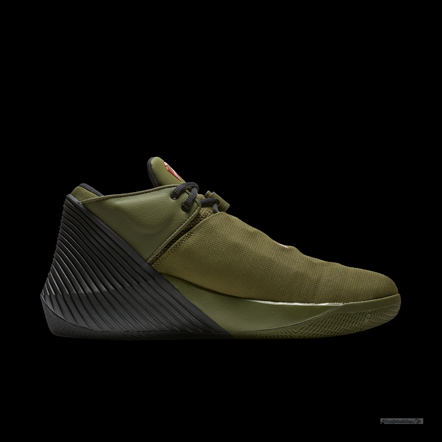 Chaussure de Basket Jordan Why Not Zer0.1 Low Pfx Olive (ar0346-300)