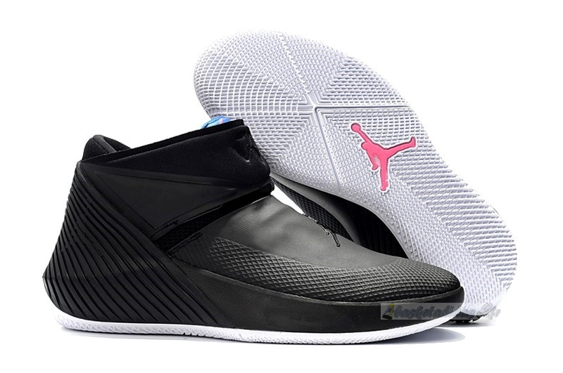 "Chaussure de Basket Jordan Why Not Zer0.1 ""Masters"" Phd Noir Rose Bleu (aq9028-024)"
