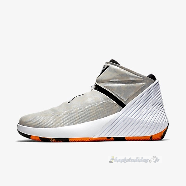 Chaussure de Basket Jordan Why Not Zer0.1 Pfx Gris Rouge (aq9028-004)