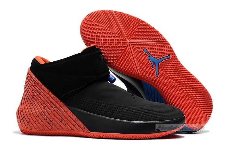 "Chaussure de Basket Jordan Why Not Zer0.1 ""Triple Double"" Noir Orange (aa2510-015)"