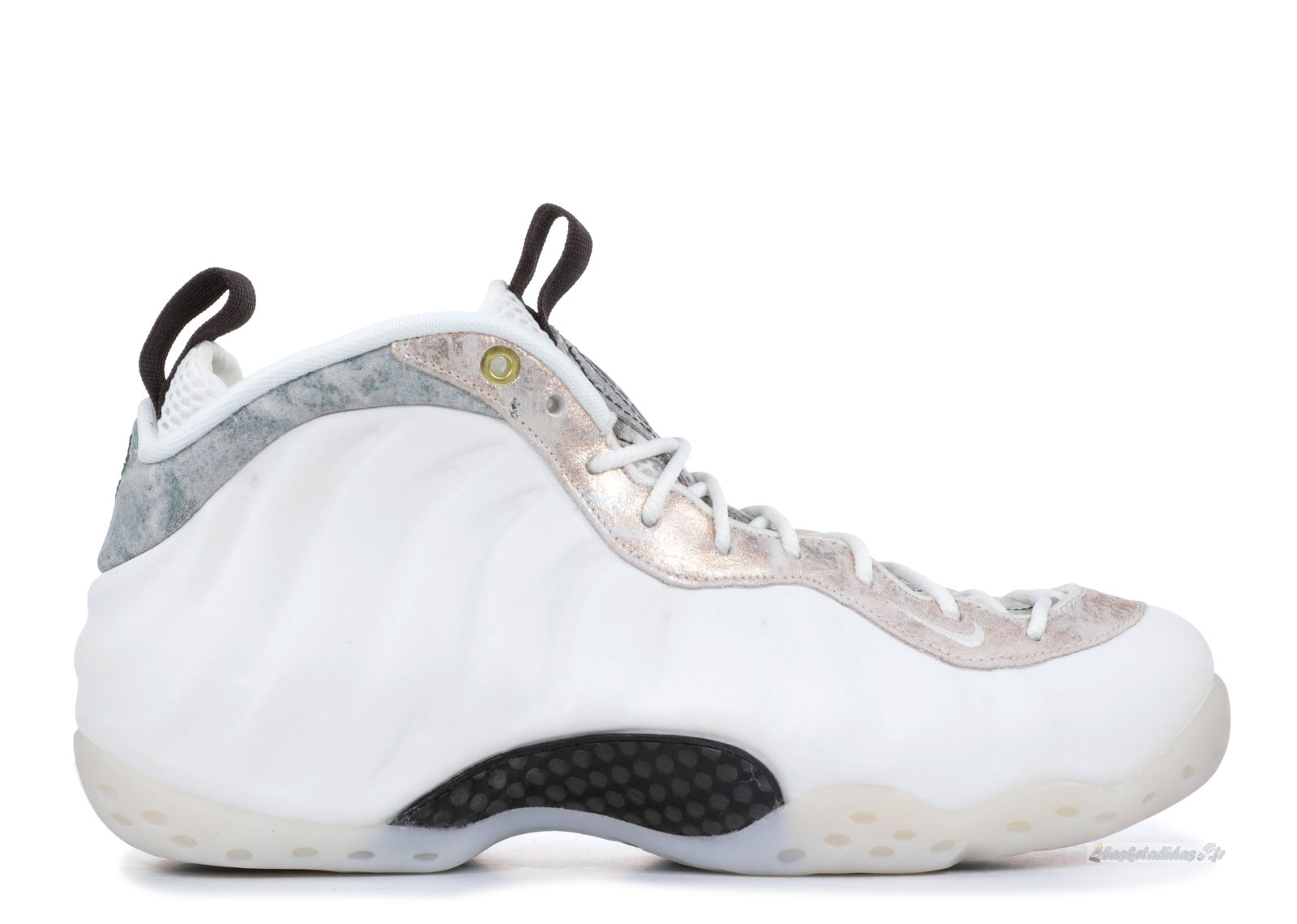 Chaussure de Basket Nike Air Foamposite One Femme Blanc (aa3963-101)