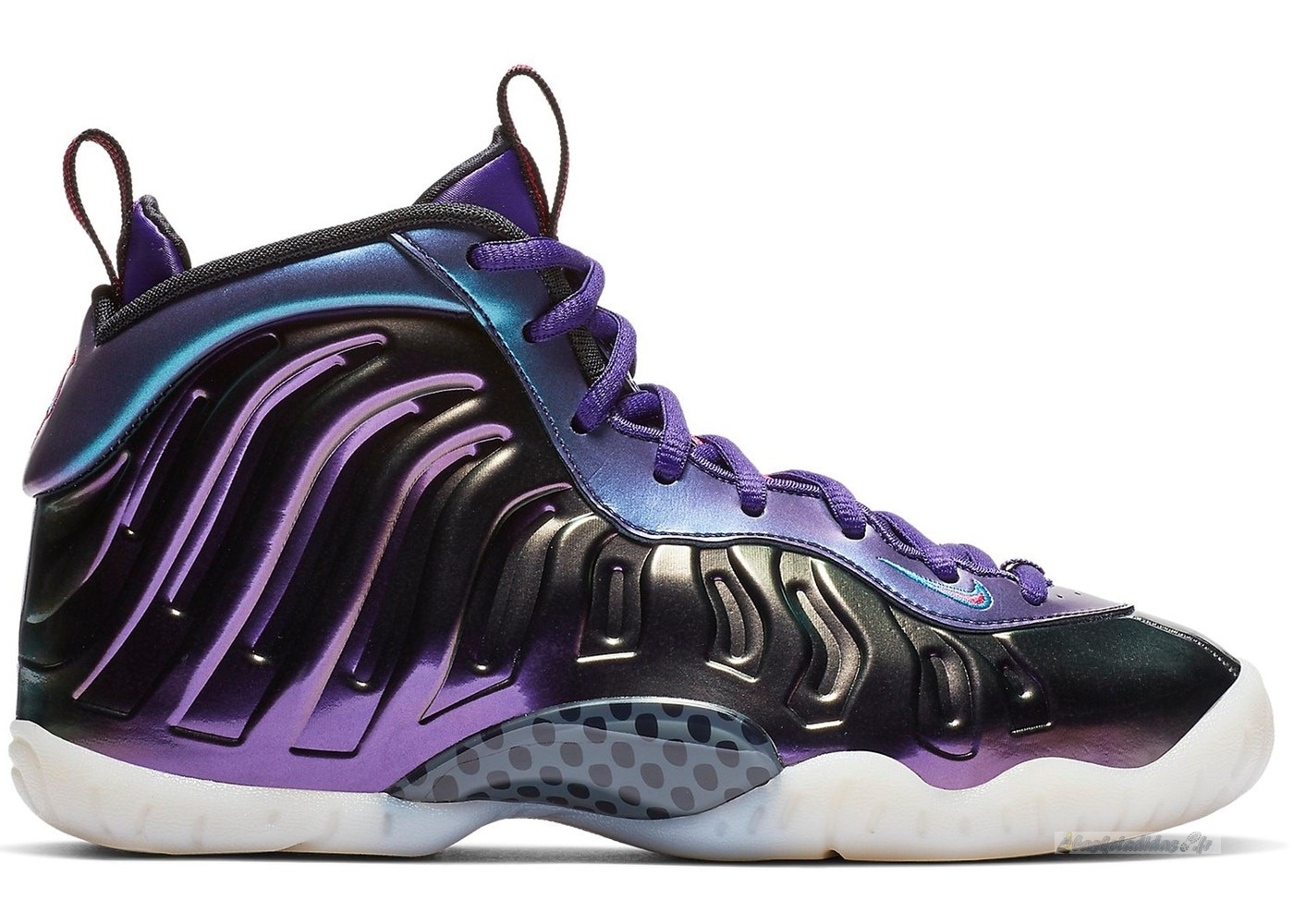 "Chaussure de Basket Nike Air Foamposite One (Gs) ""Iridescent Pourpre"" Pourpre (644791-602)"