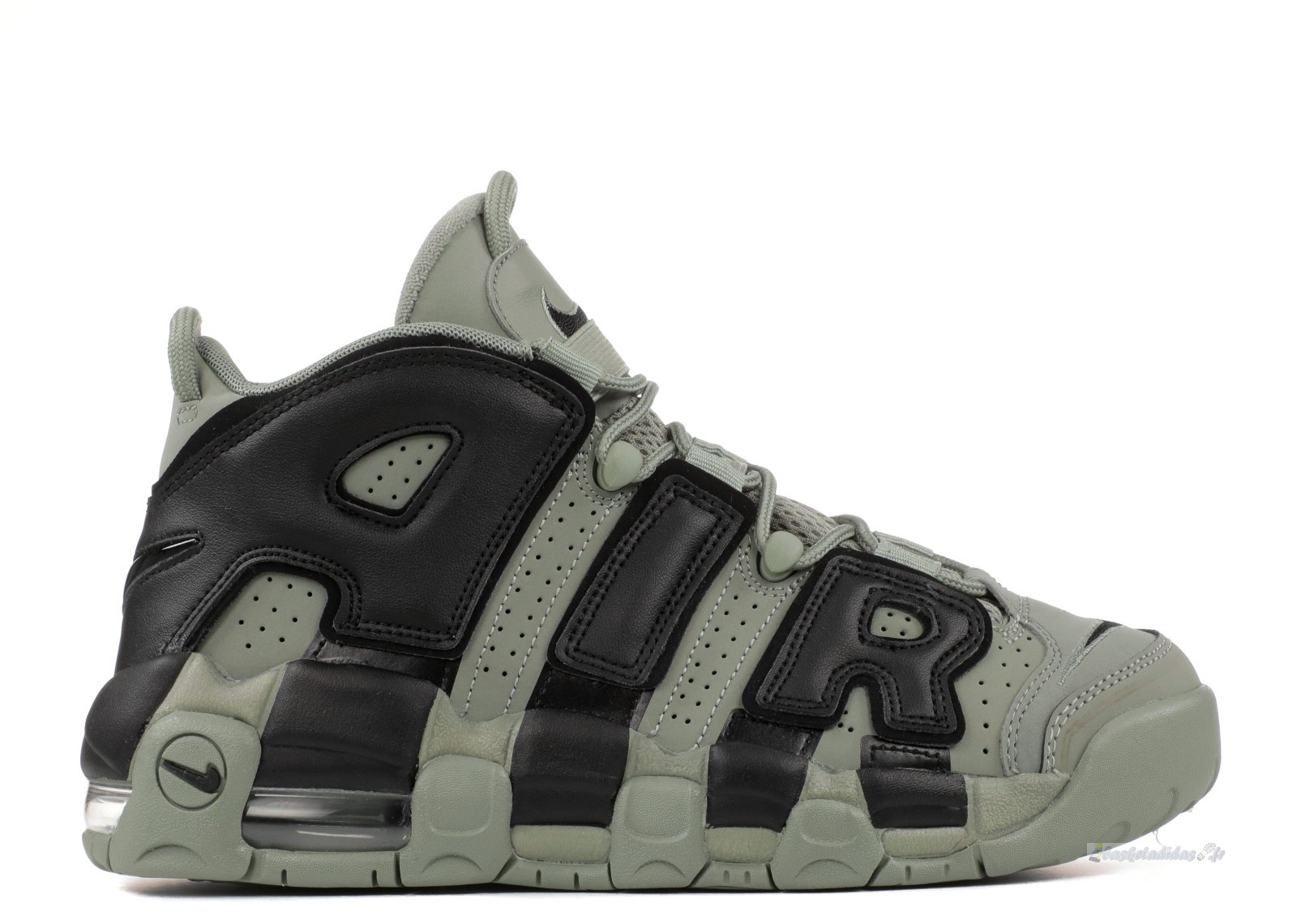 Chaussure de Basket Nike Air More Uptempo (Gs) Olive (415082-007)