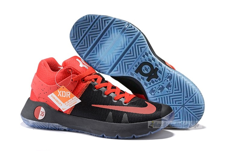 Chaussure de Basket Nike Kd Trey 5 Iv Orange Noir